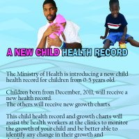 Child Health Record (front)